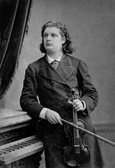 Eugène Ysaÿe en Russie, en 1883