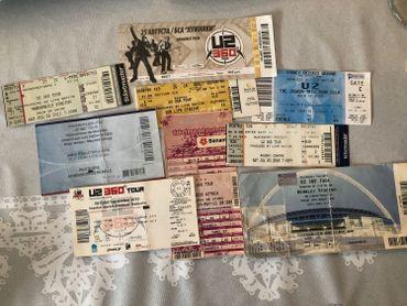 Tickets de concerts