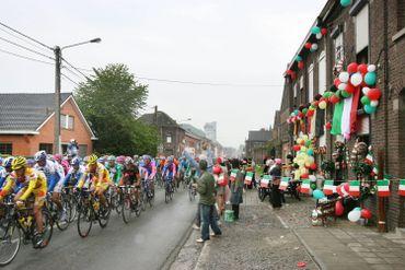 Le peloton du Tour d'Italie