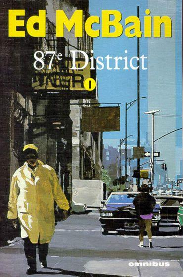 """""""87e district"""" d'Ed McBain (Omnibus)"""
