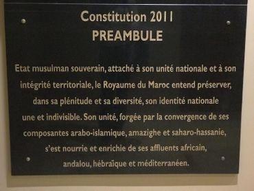 Depuis 2011, l'héritage hébraïque est inscrit dans la Constitution marocaine.