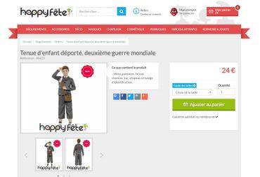 """Le site Rue du Commerce choque avec la vente d'un costume d'""""enfant déporté"""""""