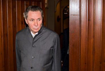 Jean-Claude Arnault au tribunal de Stockholm, le 24/09/2018