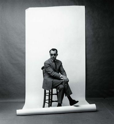Le cinéaste Jean-Luc Godard