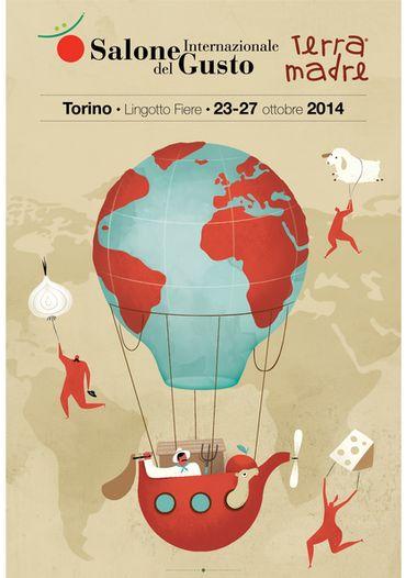 Le Salon a lieu tous les deux ans à Turin