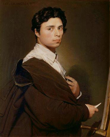 Autoportrait d'Ingres