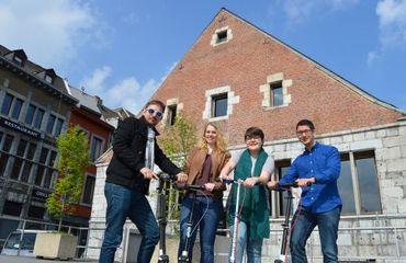L'Office du tourisme de la ville de Liège organise quelques 250 balades thématiques par an sur près de 170 thèmes
