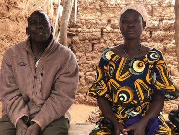 Ganame Adama et Porgo Azetou ont cinq enfants à nourrir. Mais la famille compte une trentaine de personnes