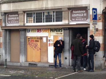 Molenbeek: une cinquantaine de sans-papiers en grève de la faim