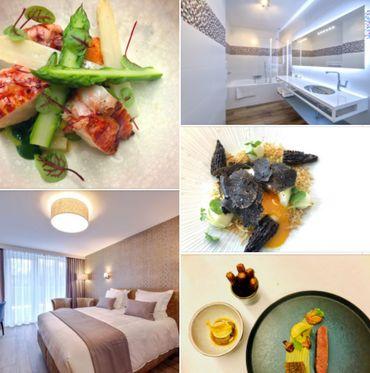 """Escapade gourmande  """"Au Fil de l'Eau"""" à Seneffe. Un repas étoilé, une nuit dans notre hôtel pour un moment de détente gastronomique"""