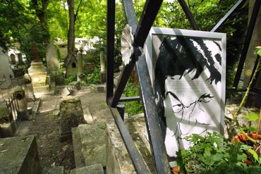 Tombe de Desproges au Père Lachaise
