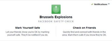 """""""Safety Check"""" de Facebook activé très tard, les internautes en colère"""