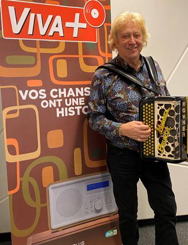"""Michel Pruvot vous emmène Sur un air d'accordéon : """"Le public belge est un vrai public d'accordéon"""""""