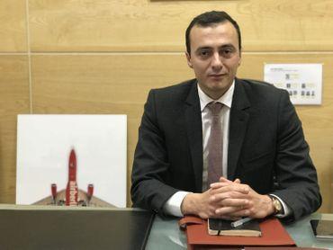 Ali Seddiki, Directeur des industries aéronautique au Ministère de l'Industrie et de l'investissement