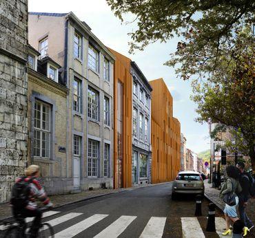 Bientôt un nouveau parlement de Wallonie: le projet en images