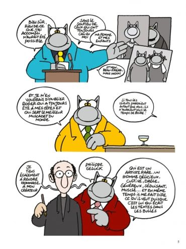 Chacun Son Chat Une Chronique Une Interview De Philippe Geluck