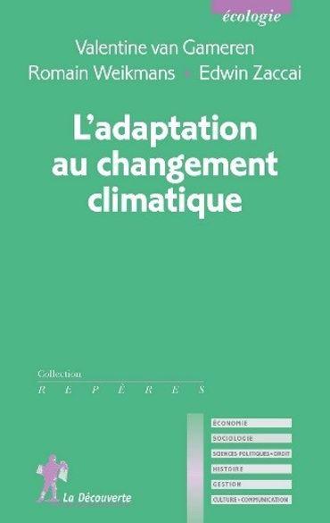 Couverture « L'adaptation au changement climatique » (Collection Repères)