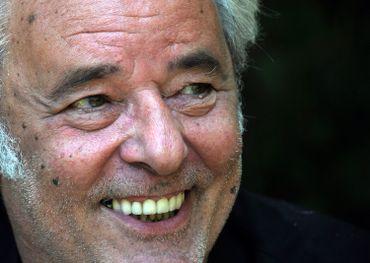 Le visage de Maxime Le Forestier s'est aussi allumé lors de sa visite de 2011.
