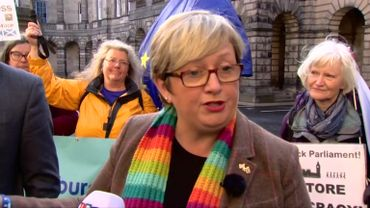 Joanna Cherry and 70 other MPs are at the origin of the case.