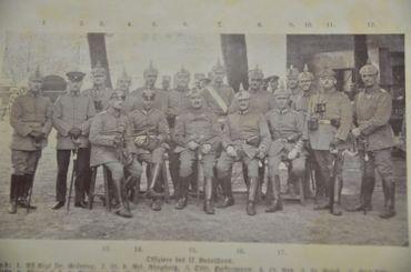 15ème régiment d'infanterie allemand qui s'est battu à Gozee