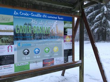 A la station de Vresse, plutôt petite et familiale, on se réjouit de l'arrivée de la neige à la veille des vacances de Carnaval.