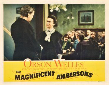 """Affiche promotionnelle du film """"la splendeur des Amberson"""""""