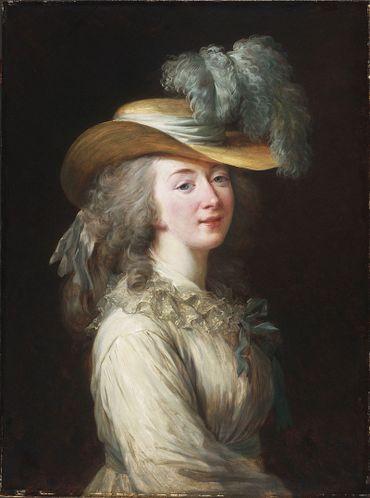 Madame du Barry en 1781, par Élisabeth Vigée-Lebrun.