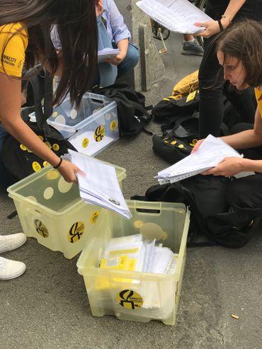 65.000 signatures récoltées par Amnesty