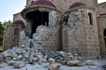 Grèce: l'île de Kos se remet peu à peu du séisme