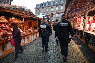 Environ 500 policiers, en uniforme et en civil, arpenteront le marché de Noël de Strasbourg.