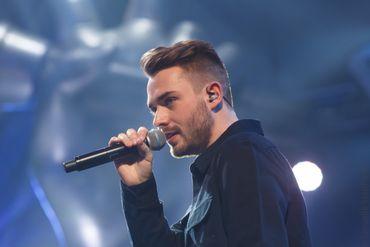 Olivier Kaye en lice pour représenter la Roumanie à l'Eurovision