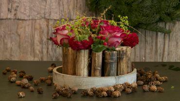 Les montages floraux simples et modernes d'Arnauld Delheille