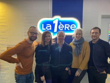 Aux côtés de Pascal Duquenne, Anne Coesens & Xavier Quinet !