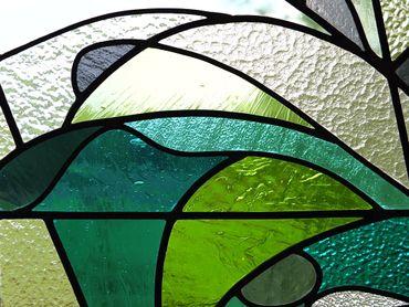 Aurélie Moreau, Création de vitraux