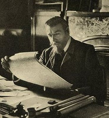 L'architecte Victor Horta