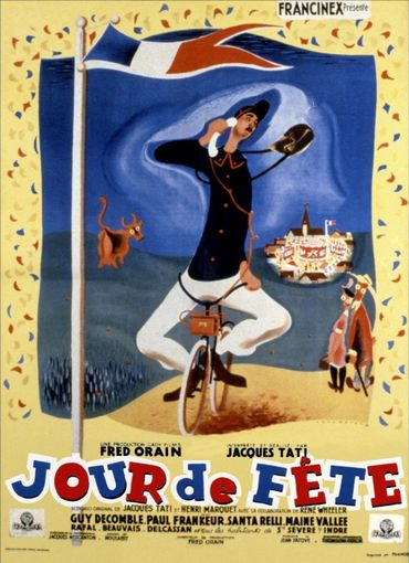 Jour de fête, le premier long-métrage de Jacques Tati