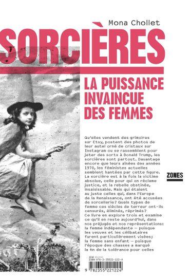"""""""Sorcières, la puissance invaincue des femmes"""" de Mona Chollet"""
