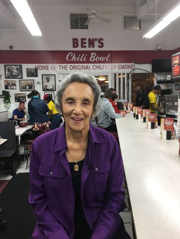 Virginia Ali, propriétaire du Ben's Chili Bowl.