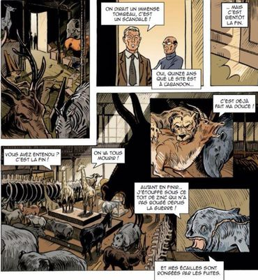 Guide de Paris en bandes dessinées