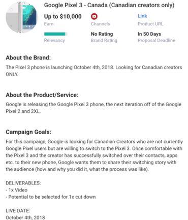 Il Pixel 3 di Google sarà presentato il 4 ottobre