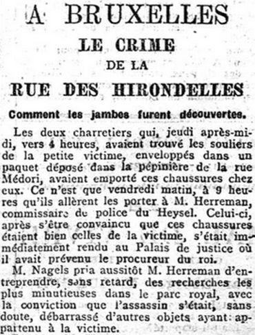 Journal LA MEUSE, 17 février 1906