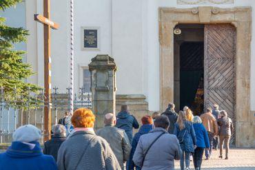 Affluence à la messe du Jeudi Saint
