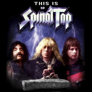 Nigel Tufnel de Spinal Tap et sa Ernie Ball/Musicman Mr Horsepower ...