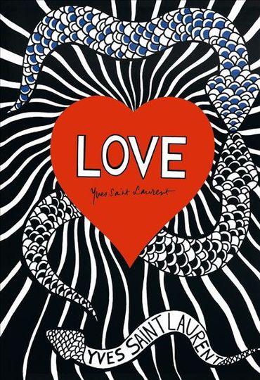 """Les Editions de La Martinière présentent l'ouvrage """"Love, Yves Saint Laurent""""."""