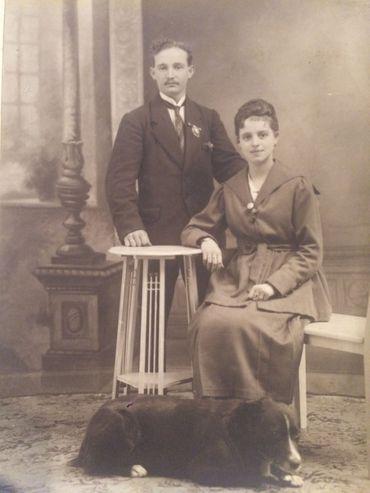 Edward Penhurst Phillips et Gabrielle Hubert