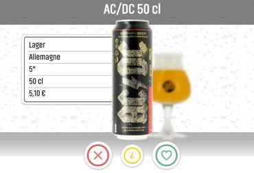 Choisissez votre bière comme votre prochain rendez-vous galant