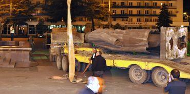 La statue de Staline à Gori en 2010