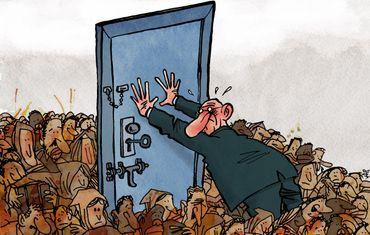 Voici les gagnants des Press Cartoon Belgium et Press Cartoon Europe