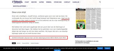 Le fact checking en 7 points du débat explosif avec le leader de Schild en Vrienden à la VRT