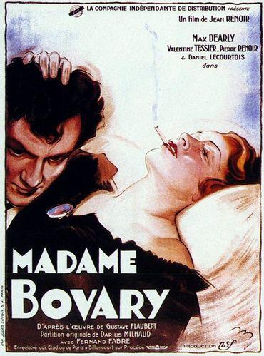 Illustration : film Madame Bovary par Jean Renoir - 1933 - Avec Max Dearly, Valentine Tessier, Pierre Renoir